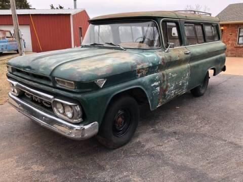 1962 GMC Suburban for sale at Classic Car Deals in Cadillac MI