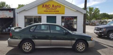 2001 Subaru Outback for sale at ABC AUTO CLINIC - Chubbuck in Chubbuck ID