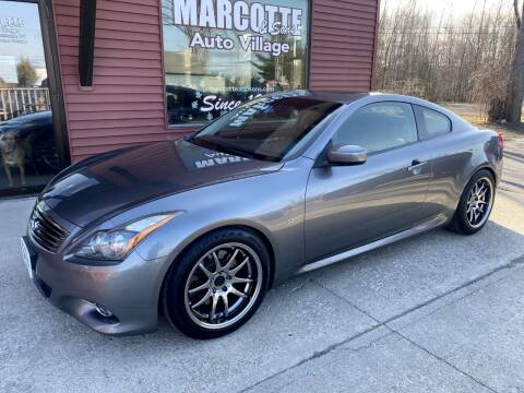 2014 Infiniti Q60 Coupe for sale at Marcotte & Sons Auto Village in North Ferrisburgh VT