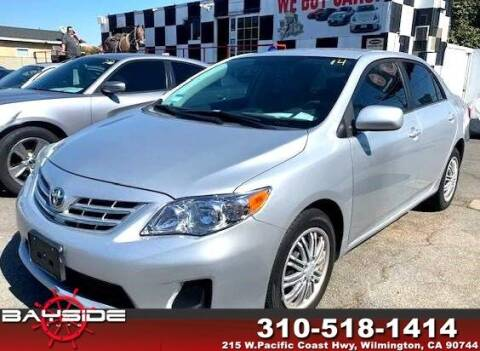 2013 Toyota Corolla for sale at BaySide Auto in Wilmington CA