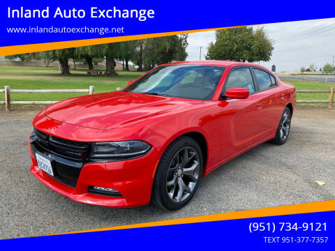 2015 Dodge Charger for sale at Inland Auto Exchange in Norco CA
