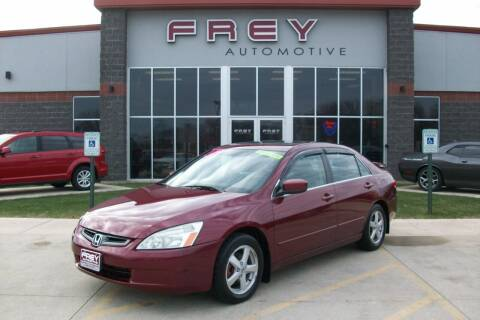 2004 Honda Accord for sale at Frey Automotive in Muskego WI