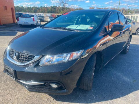 2015 Honda Civic for sale at Copa Mundo Auto in Richmond VA