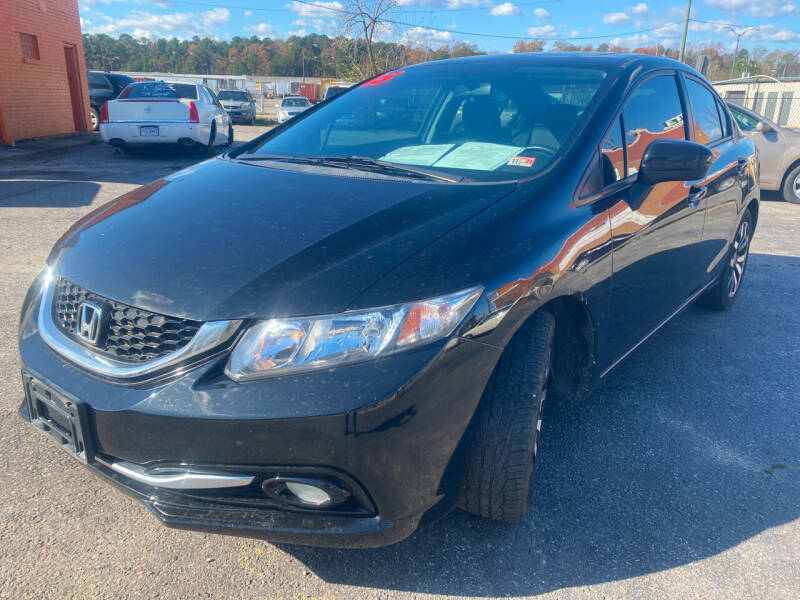 2015 Honda Civic for sale at Copa Mundo Auto in Richmond VA