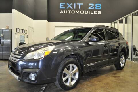 2013 Subaru Outback for sale at Exit 28 Auto Center LLC in Cornelius NC
