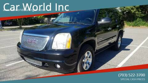 2007 GMC Yukon for sale at Car World Inc in Arlington VA