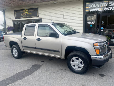 2008 GMC Canyon for sale at COUNTRY SAAB OF ORANGE COUNTY in Florida NY