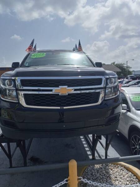 2020 Chevrolet Tahoe for sale at Navarro Auto Motors in Hialeah FL