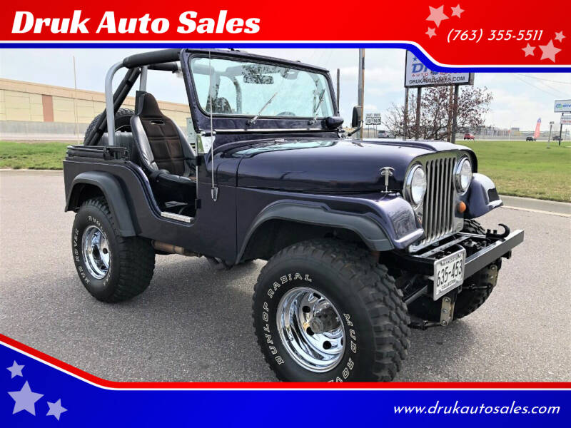 1967 Jeep CJ-5 for sale at Druk Auto Sales in Ramsey MN