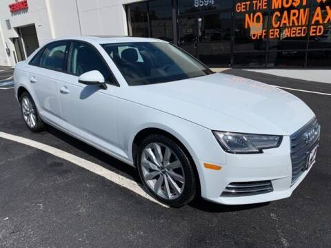 2017 Audi A4 for sale at Hi-Lo Auto Sales in Frederick MD