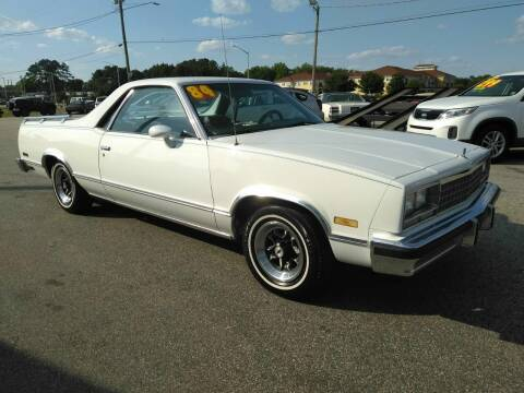 1984 Chevrolet El Camino for sale at Kelly & Kelly Supermarket of Cars in Fayetteville NC