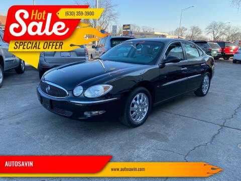 2007 Buick LaCrosse for sale at AUTOSAVIN in Elmhurst IL