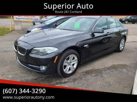 2012 BMW 5 Series for sale at Superior Auto in Cortland NY