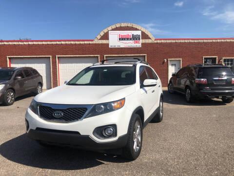 2012 Kia Sorento for sale at Family Auto Finance OKC LLC in Oklahoma City OK