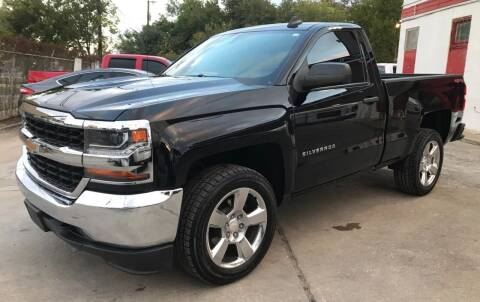 2017 Chevrolet Silverado 1500 for sale at FAST LANE AUTO SALES in San Antonio TX