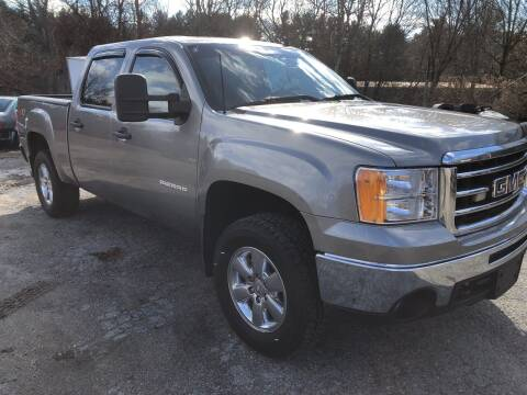 2013 GMC Sierra 1500 for sale at Oxford Auto Sales in North Oxford MA