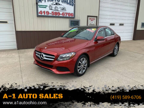 2016 Mercedes-Benz C-Class for sale at A-1 AUTO SALES in Mansfield OH