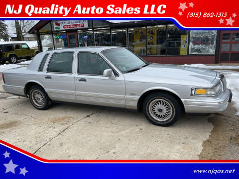 1996 Lincoln Town Car for sale at NJ Quality Auto Sales LLC in Richmond IL
