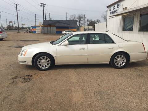 2008 Cadillac DTS for sale at B & B CARS llc in Bossier City LA