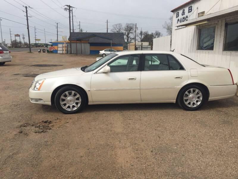 2008 Cadillac DTS for sale at B & B CARS llc in Bossier City LA