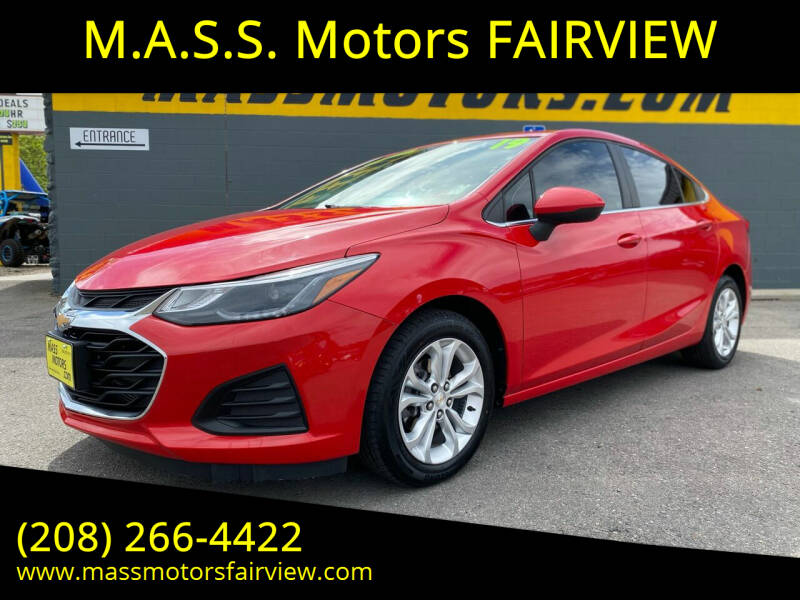 2019 Chevrolet Cruze for sale at M.A.S.S. Motors - Fairview in Boise ID
