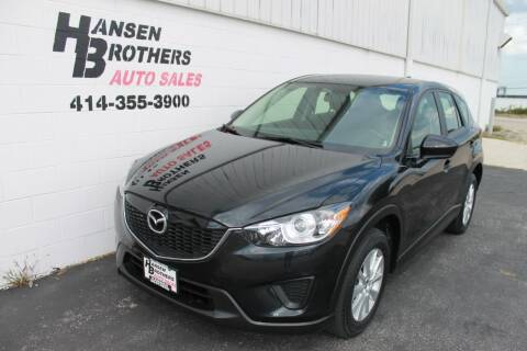 2013 Mazda CX-5 for sale at HANSEN BROTHERS AUTO SALES in Milwaukee WI