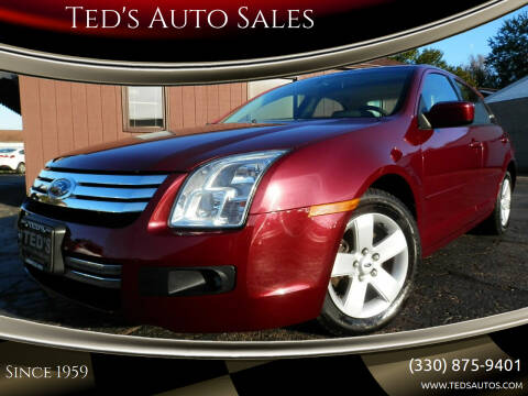 2007 Ford Fusion for sale at Ted's Auto Sales in Louisville OH