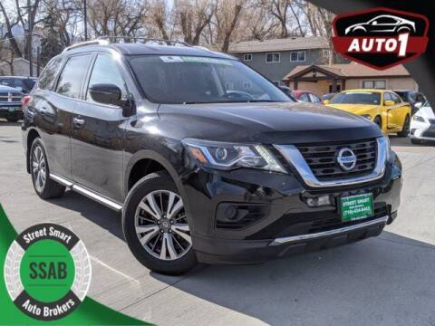 2017 Nissan Pathfinder for sale at Street Smart Auto Brokers in Colorado Springs CO