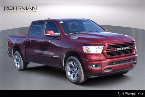2019 RAM Ram Pickup 1500 for sale at BOB ROHRMAN FORT WAYNE TOYOTA in Fort Wayne IN