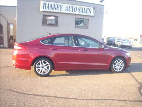 2016 Ford Fusion for sale at Ranney's Auto Sales in Eau Claire WI