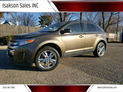 2011 Ford Edge for sale at Isakson Sales INC in Waite Park MN