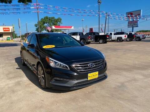 2016 Hyundai Sonata for sale at Russell Smith Auto in Fort Worth TX
