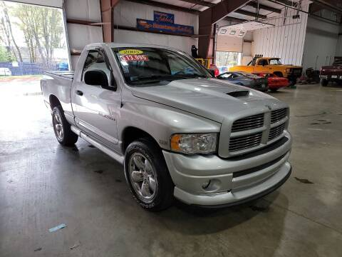 2005 Dodge Ram Pickup 1500 for sale at Hometown Automotive Service & Sales in Holliston MA