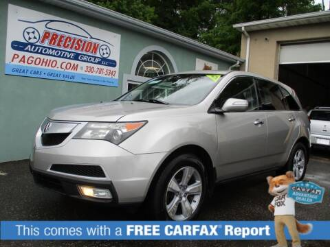 2011 Acura MDX for sale at Precision Automotive Group in Youngstown OH