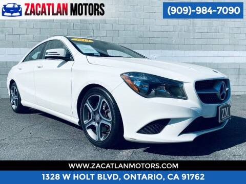 2014 Mercedes-Benz CLA for sale at Ontario Auto Square in Ontario CA