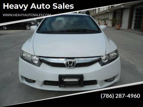 2010 Honda Civic for sale at Heavy Auto Sales in Miami FL