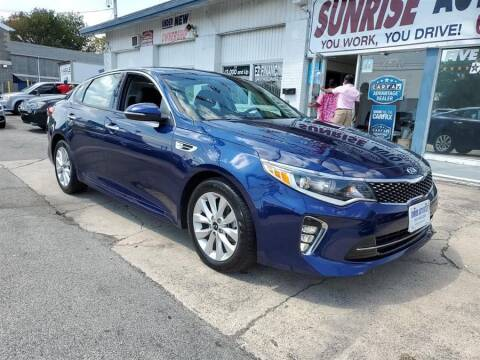 2018 Kia Optima for sale at Sunrise Auto Outlet in Amityville NY