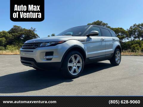 2015 Land Rover Range Rover Evoque for sale at Auto Max of Ventura in Ventura CA