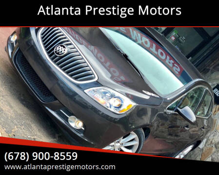2012 Buick Verano for sale at Atlanta Prestige Motors in Decatur GA