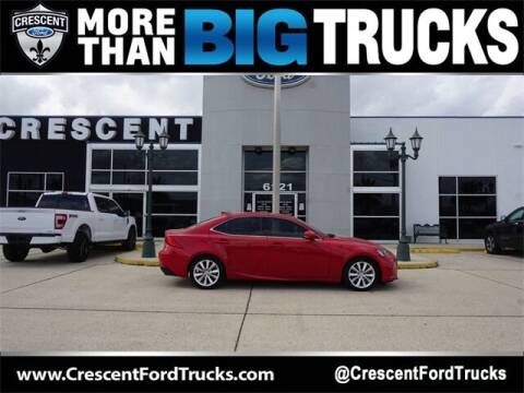 2017 Lexus IS 200t for sale at Crescent Ford in Harahan LA