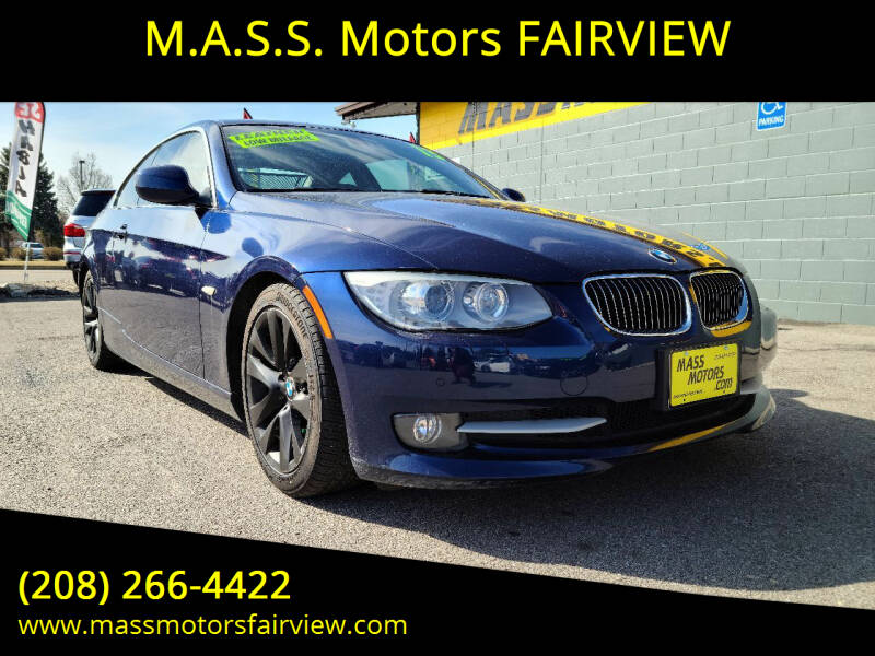 2013 BMW 3 Series for sale at M.A.S.S. Motors - Fairview in Boise ID
