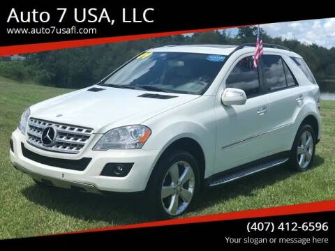 2009 Mercedes-Benz M-Class for sale at Auto 7 USA, LLC in Orlando FL