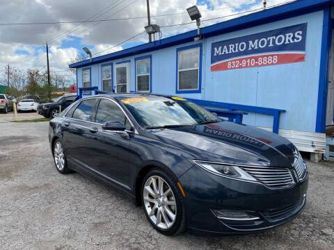 2014 Lincoln MKZ for sale at Mario Motors in South Houston TX