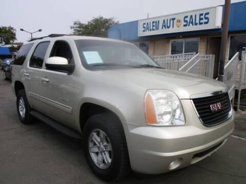 2013 GMC Yukon for sale at Salem Auto Sales in Sacramento CA