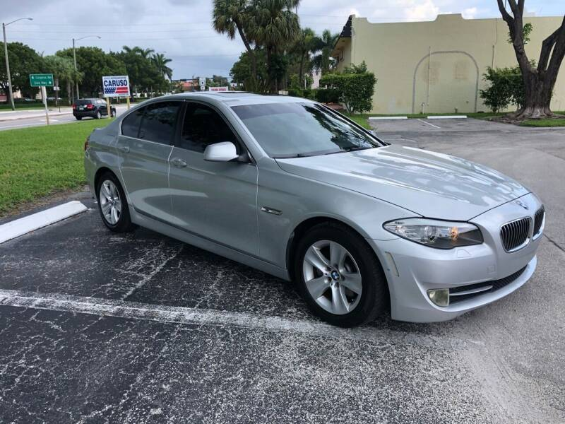 2011 BMW 5 Series for sale at GERMANY TECH in Boca Raton FL
