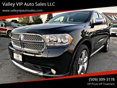2012 Dodge Durango for sale at Valley VIP Auto Sales LLC - Valley VIP Auto Sales - E Sprague in Spokane Valley WA