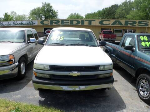 2002 Chevrolet Silverado 1500 for sale at Credit Cars of NWA in Bentonville AR