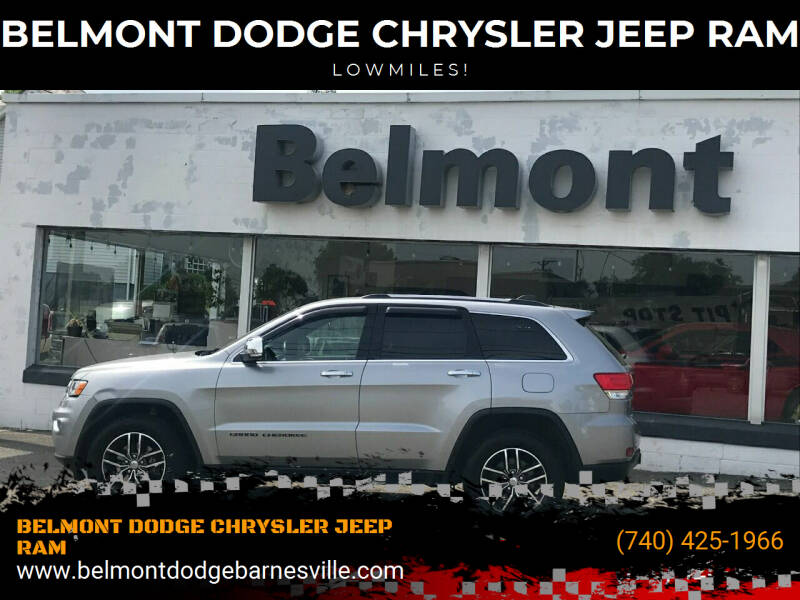2017 Jeep Grand Cherokee for sale at BELMONT DODGE CHRYSLER JEEP RAM in Barnesville OH