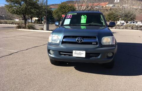 2005 Toyota Sequoia for sale at GALLIAN DISCOUNT AUTO in St George UT