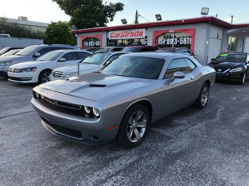 2016 Dodge Challenger for sale at CARSTRADA in Hollywood FL